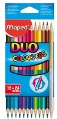 Maped Duo Colorpeps Triangular Shaped Color Pencil
