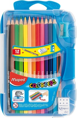 Maped Color Pep,s Triangular Shaped Color Pencils