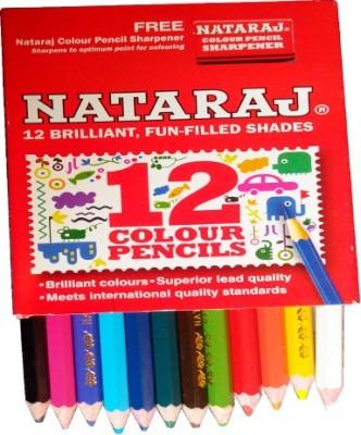 Nataraj Art Creation Round Shaped Color Pencils(Set of 20, Multicolour)