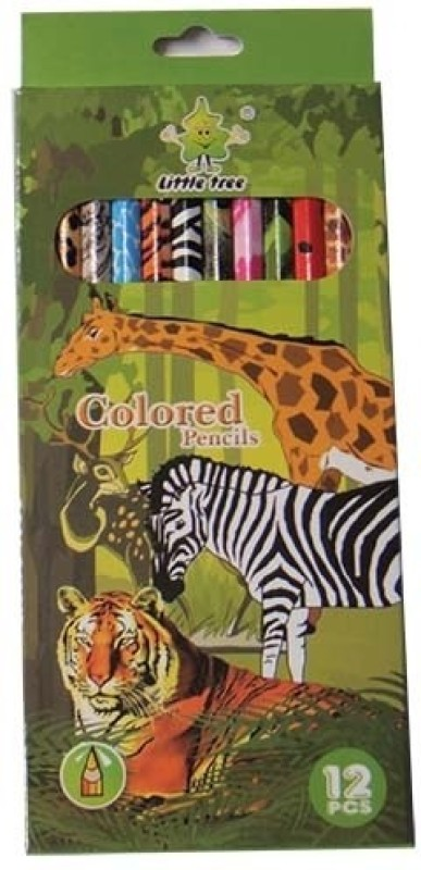 Little Tree Art Creation Round Shaped Color Pencils(Set of 1, Multicolor)