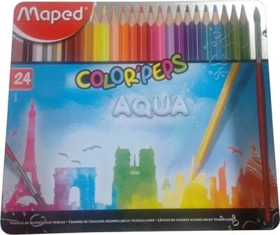Maped AQUA Triangular Shaped Color Pencils