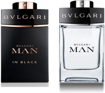Bvlgari Men In Black / Man Set Of 2 Combo Set