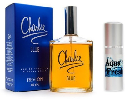 Revlon Charlie Blue Perfume and Aqua Fresh Combo Set