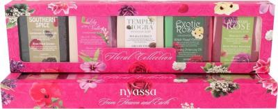 Nyassa Floral Collection 5pc Gift Set Combo Set