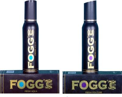 Fogg Fresh Aqua and Fougere Combo Set