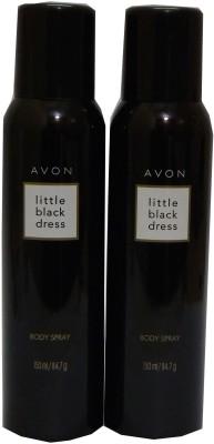 Avon Little Black Dress Body Each 150 ml Combo Set