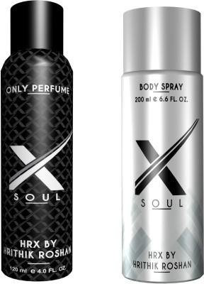Hrx By Hrithik Roshan Body Spray Gift Set