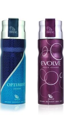 Arabian Nights Ekoz deodorant combo pack for women - DFCOMBO-1 Combo Set