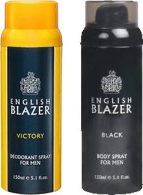 English Blazer Victory-Black Combo Set