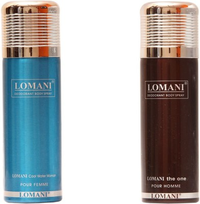 Lomani Cool Water::The One Combo Set