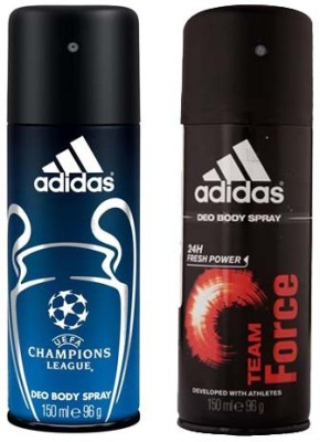 Adidas Champions League and Team Force Combo Set