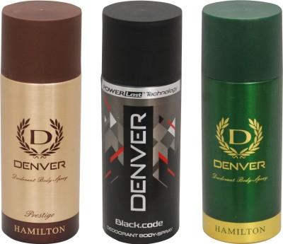 Denver Black Code,Prestige,Hamilton Combo Set