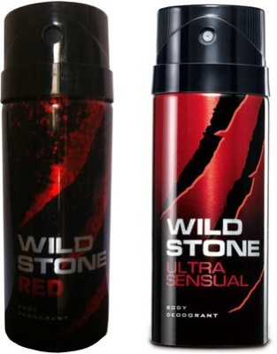 Wild Stone Red And Ultra Sensual Combo Set