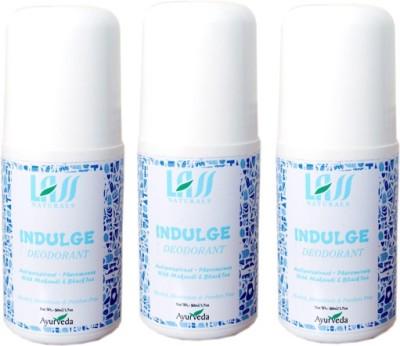 Lass Naturals Women's Deodorant of 3 Combo Set