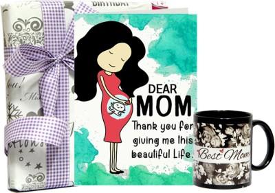 Gifts By Meeta Card with Black Mug Combo Set