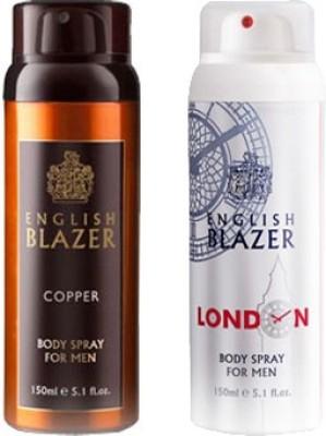 English Blazer Copper-London Combo Set