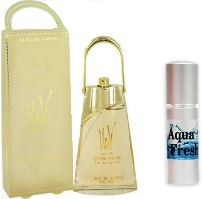 Udv Gold Issime Perfume And Aqua Fresh Combo Set