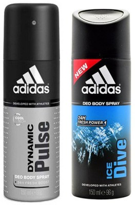 Adidas Dynamic pulse & Ice Dive Combo Set