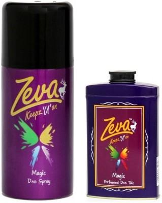 Zeva Keepz U On zeva deodorant men & women bodyspray unisex giftset comboset Combo Set