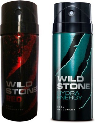 Wild Stone Red And Hydra Energy Combo Set