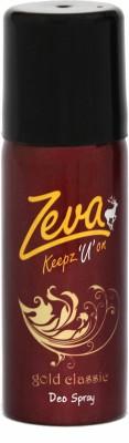 Zeva Keepz U On Deo Gold Deodorant Spray  -