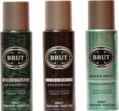 Brut Musk,Original,Eau De Brut Combo Set