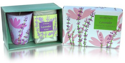 Maroma Lavender Essential Ambience Combo Set