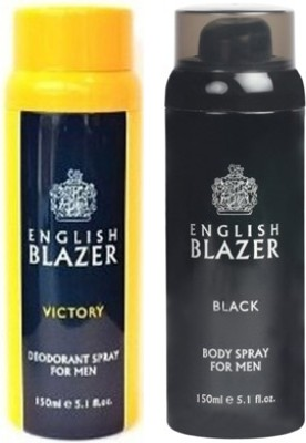 English Blazer Black Victory Combo Set