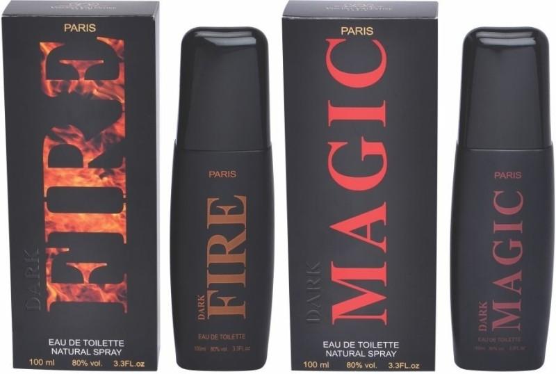 Vincent Valentine Paris Set of Dark Fire & Dark Magic Perfume Gift Set(Set of 2)