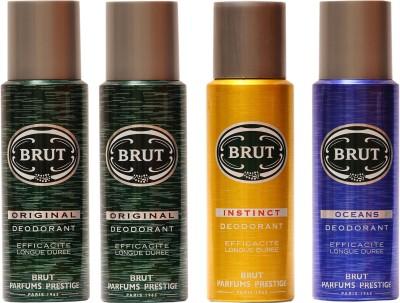 Brut Original,Instinct,Musk Combo Set