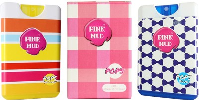 Pink Mud Pops Blue and Yellow Combo Gift Set