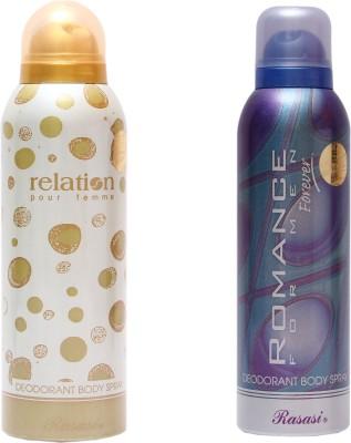 Rasasi Relation Women::Romance Men Combo Set