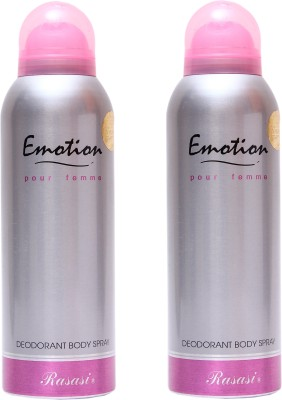 Rasasi Emotion Women Combo Set