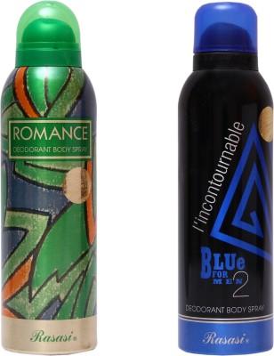 Rasasi Romance Women::Blue Incontournable Combo Set