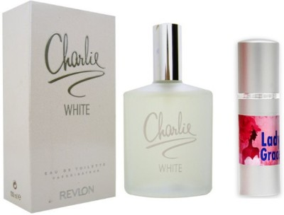 Revlon Charlie White Perfume And Lady Grace Combo Set