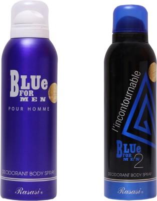 Rasasi Blue For Men::Blue Incontournable Combo Set