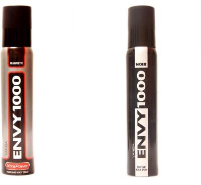 Envy 1000 Magnetic,Noir Combo Set