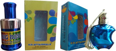 Kr Attarwala Fourth Natural Fancy Series Of Super Premium Attars Gift Set  Combo Set