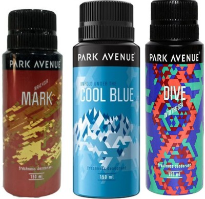 Park Avenue Cool Blue,Dive and Mark Combo Set