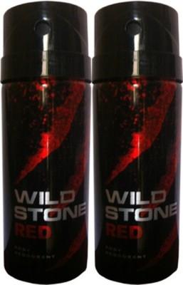 Wild Stone Red Deodorant Spray Combo Set