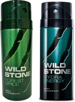 Wild Stone Forest Spice And Hydra Energy Combo Set(Set of 2)