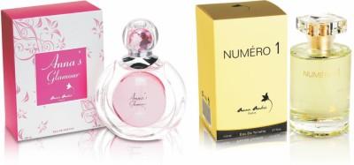Anna Andre Paris Glamour & Numero I Perfume Gift Set