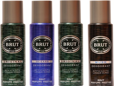 Brut Original,Musk,Oceans Combo Set