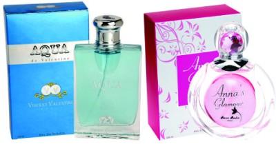 Vincent Valentine Paris Set of Aqua de Valentine EDT & Anna's Glamour EDT Gift Set