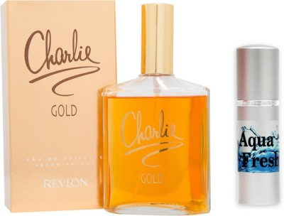 Revlon Charlie Gold Perfume And Aqua Fresh Combo Set