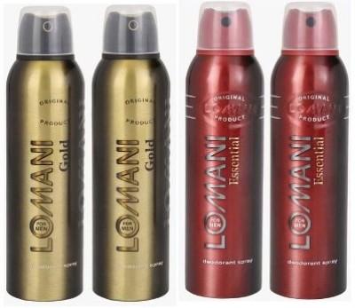 Lomani Gold & Essential Combo Set