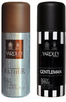 Yardley London Arthur and Gentleman Combo Set(Set of 2)