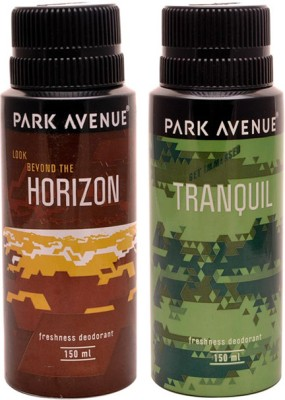 Park Avenue Park Avenue Tranquil, Horizon Pack of 2 Deodorants Combo Set