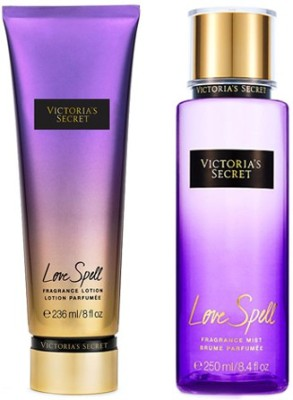 Victoria's Secret New! Love Spell Fragrance Lotion And Mist Combo Set