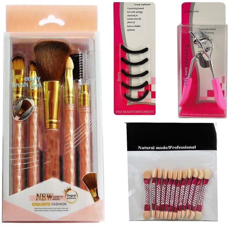 Ear Lobe & Accessories Personal /Professional Make up Utility Combo Combo Set